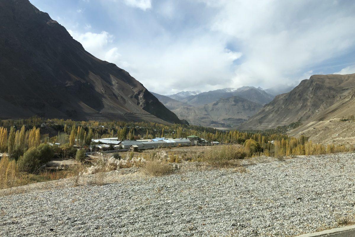 Mountains in Khorog